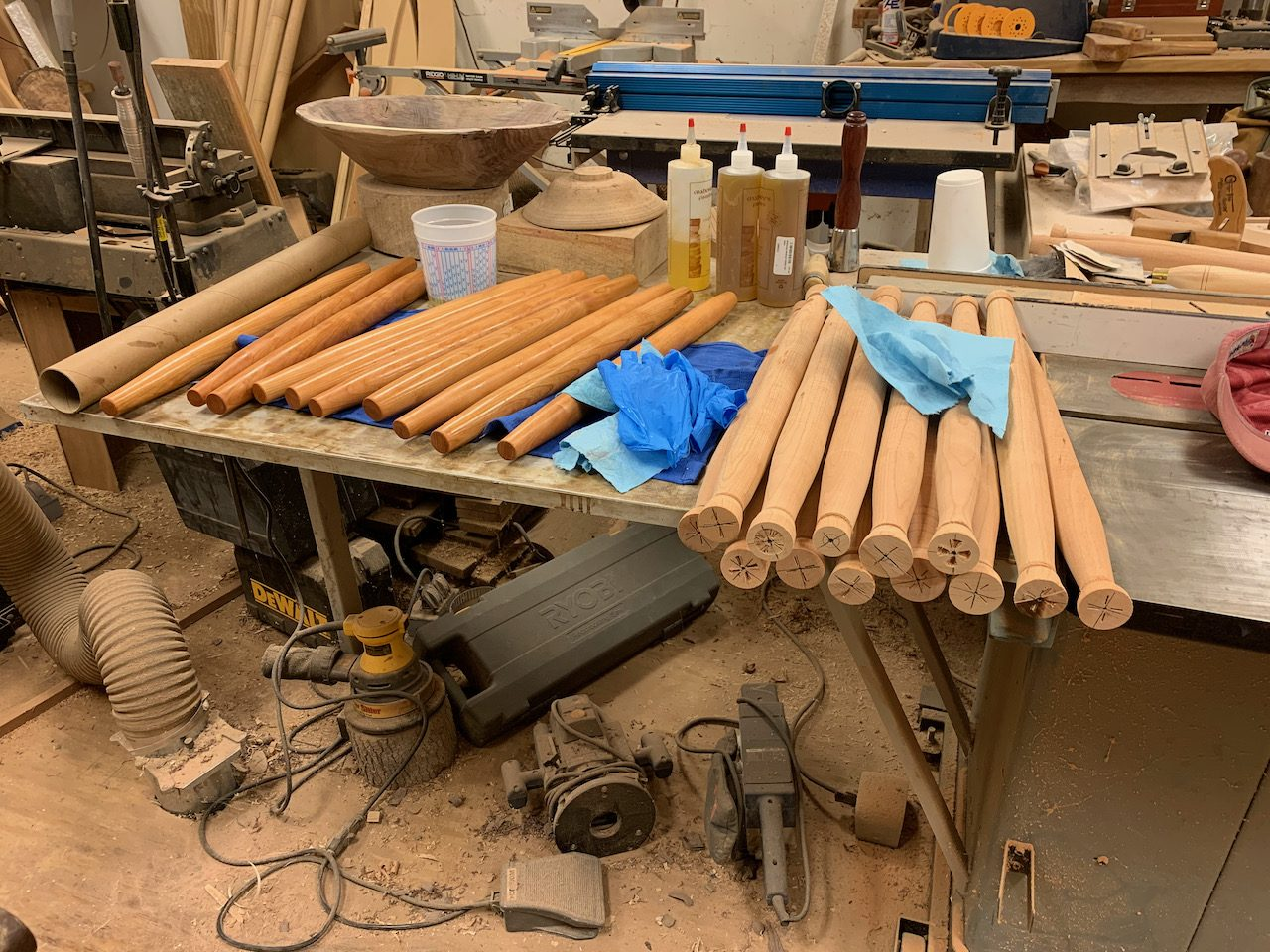 Making French Rolling Pins –WWPP